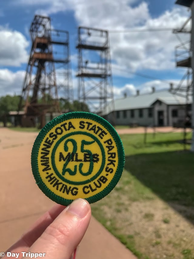 MN State Parks Hiking Club Patch 25 Miles