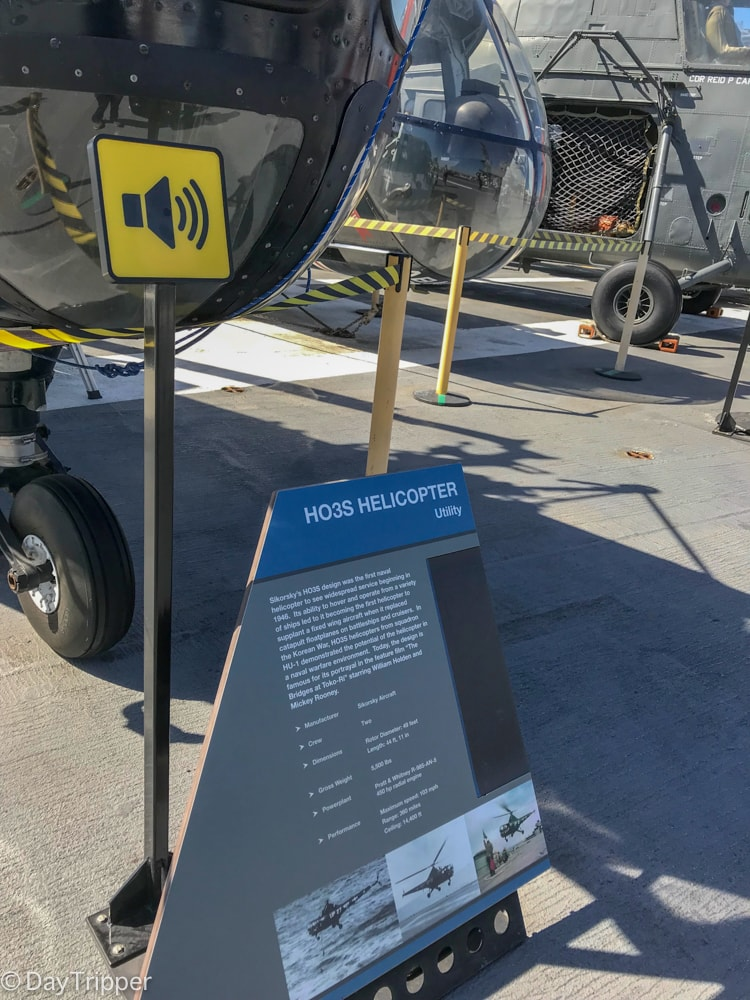 Audio Tour Stop on the USS Midway