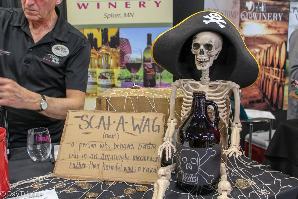 A Scalawag at Clink Wine Festival in Shakopee