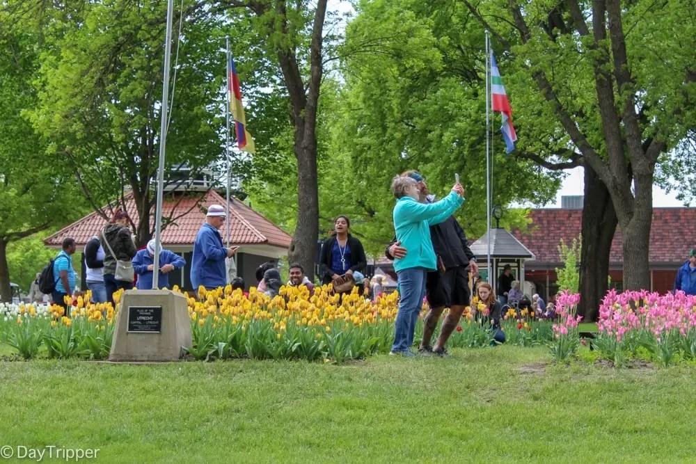Photo Opportunity at Orange City Tulip Festival