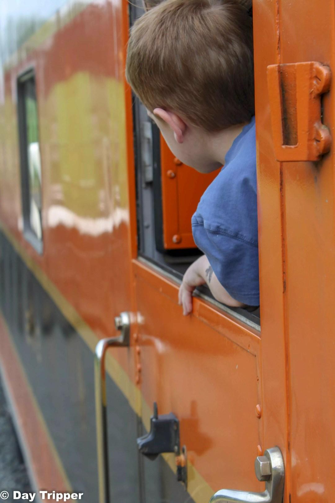 All abord! Minnesota Train Rides