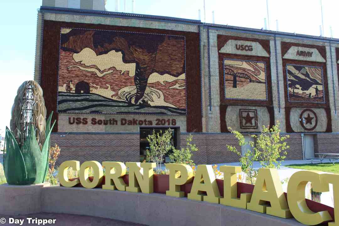 The Corn Palace in Mitchel South Dakota