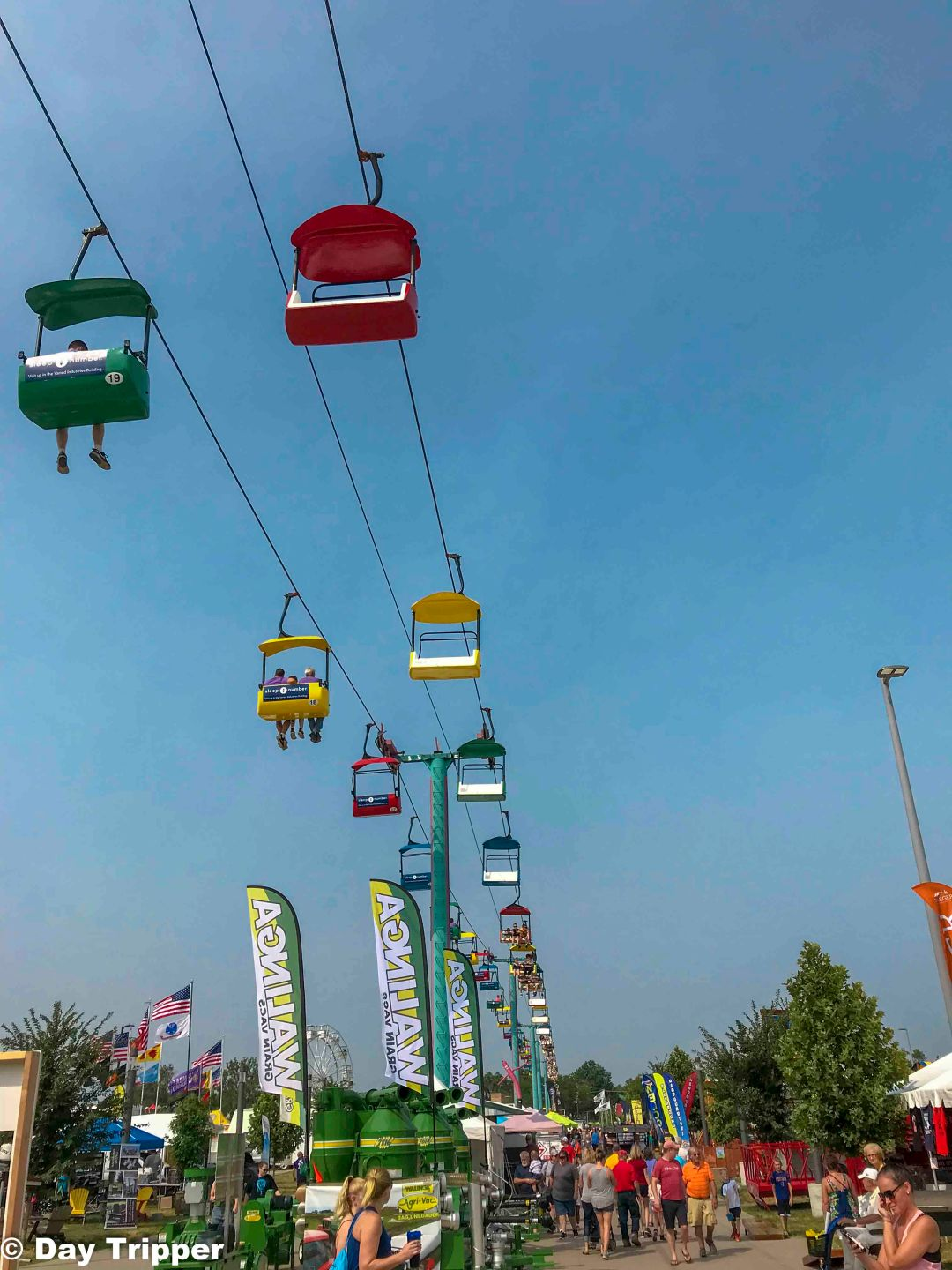 Iowa State Fair Sky lift