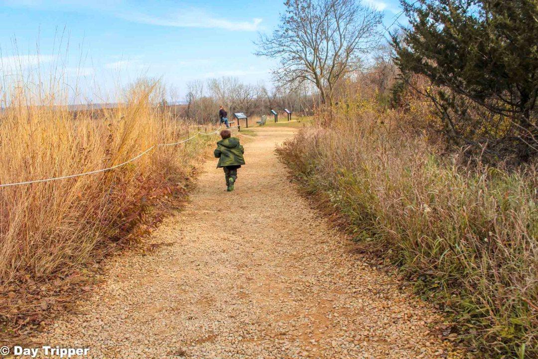 Hiking in the Prairie
