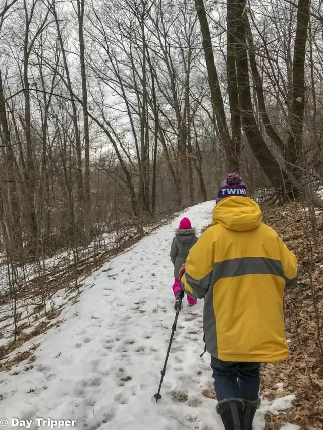 Winter Hiking Fun