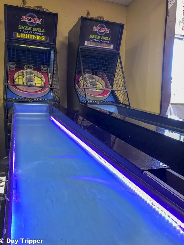 Ski Ball at Blue Sun Soda Shop