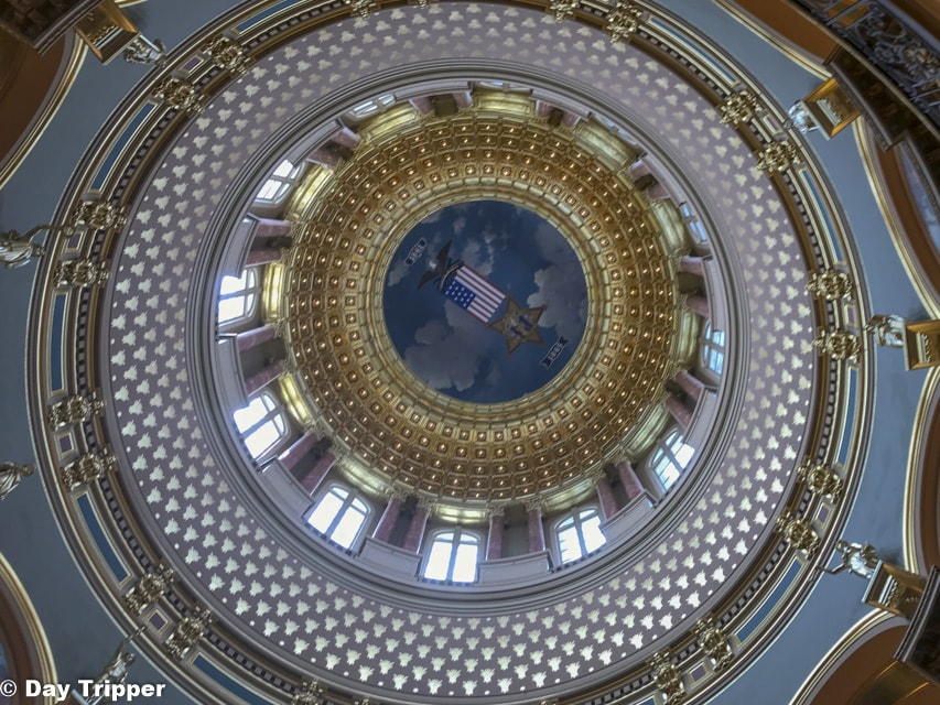 The Iowa State Capitol Dome