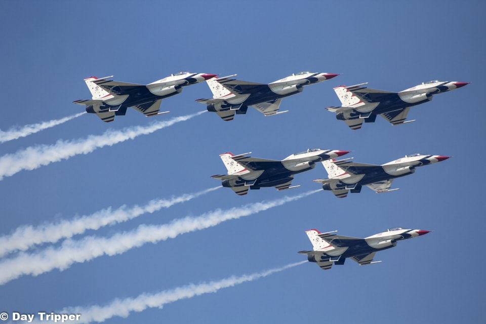 Thunderbirds in Formation