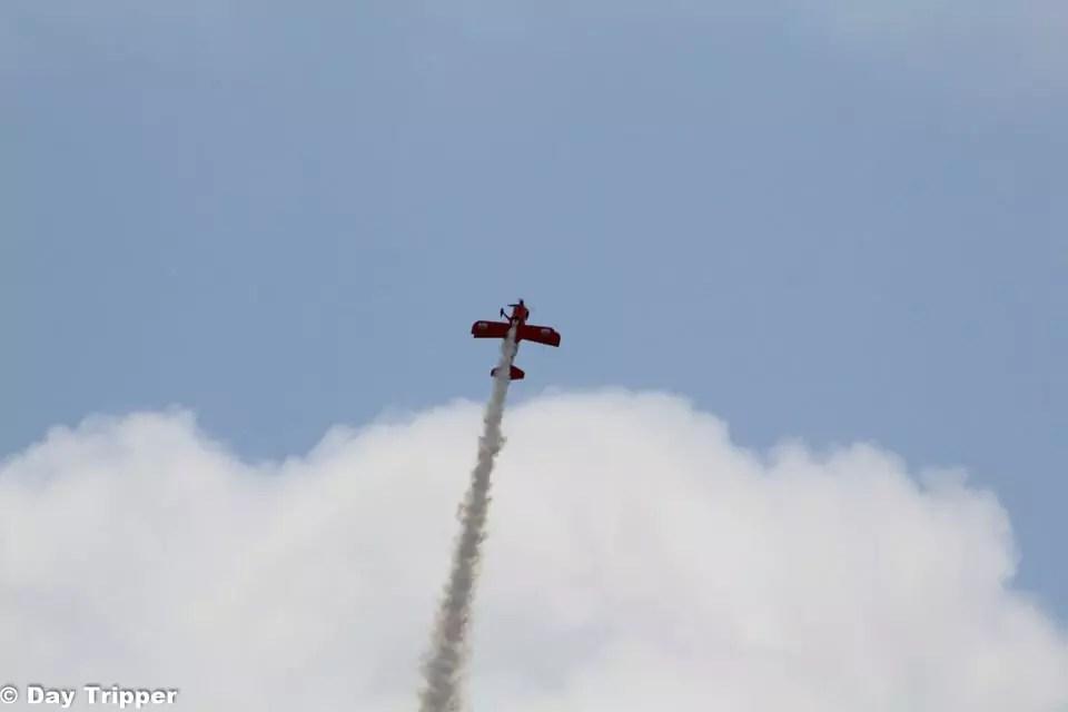 Lucas Oil Biplane at the Mankato Air Show