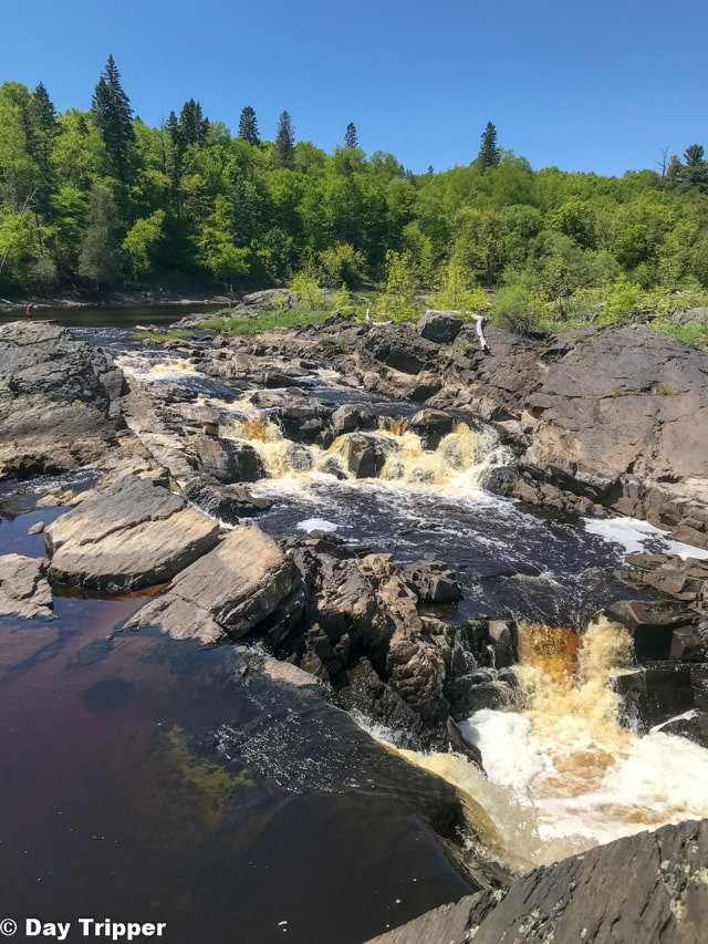 Waterfalls at Jay Cooke State Park