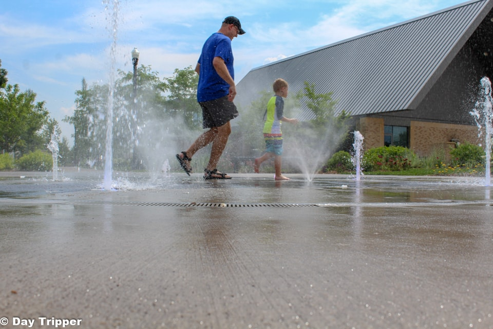 Fireman's Park Fountains and Splash Pad
