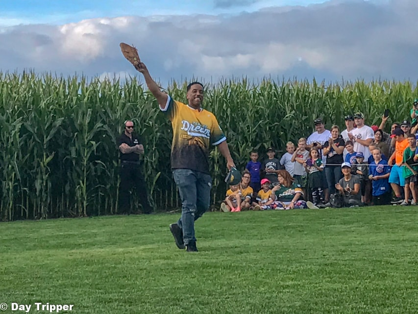 Brandon Quintin Adams (Kevin DeNunes and Jessi Hall) from the Sandlot and the Mighty Ducks at the Field of Dreams Movie Site