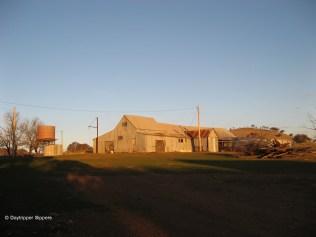 Shearing shed at 'Mylora' property, Illalong Road South, New South Wales