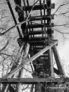 Old tramway bridge over Yass River, in Joe O'Connor Park, Yass, New South Wales