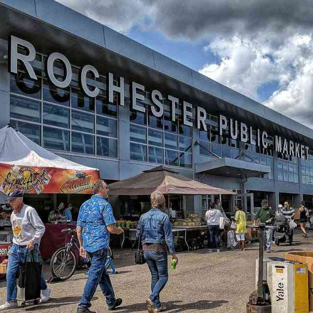 30 day trips within 30 minutes of Rochester: Rochester Public Market