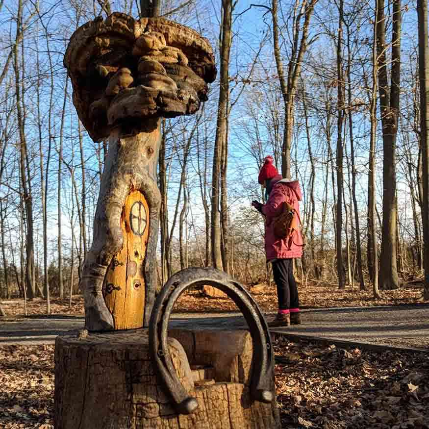Tinker Nature Park Fairy Houses