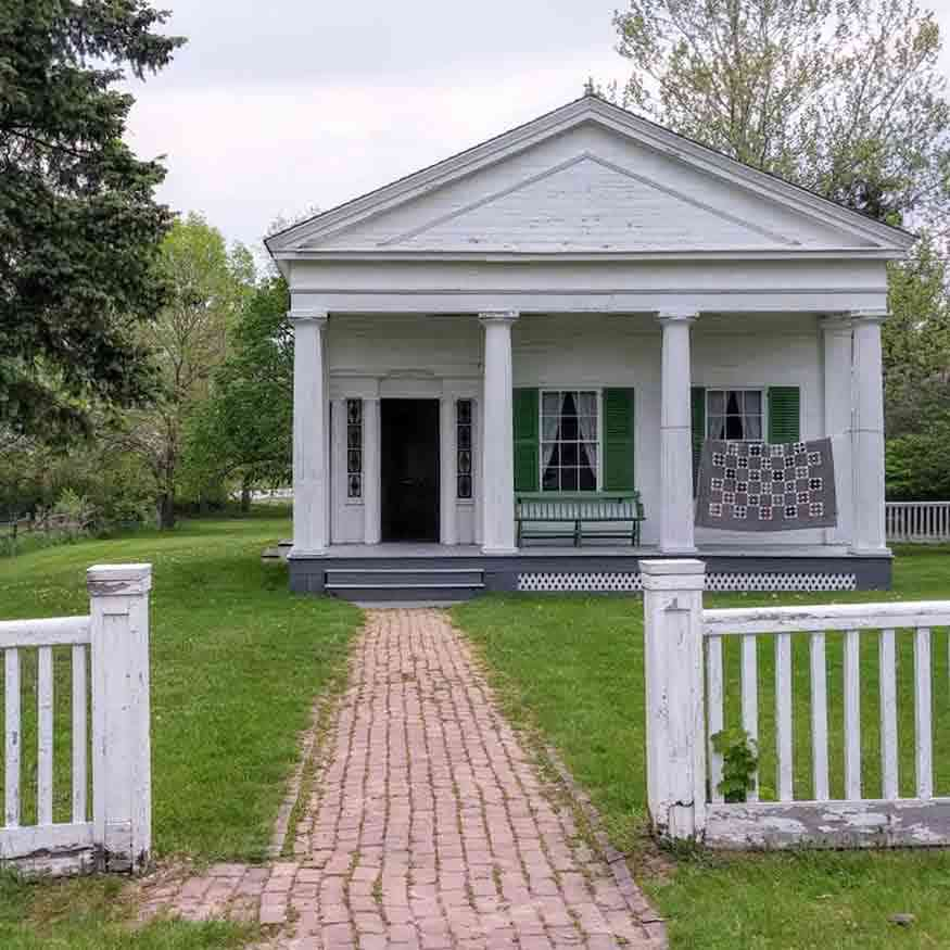 Genesee Country Village and Museum Mumford NY George Eastman Childhood Home