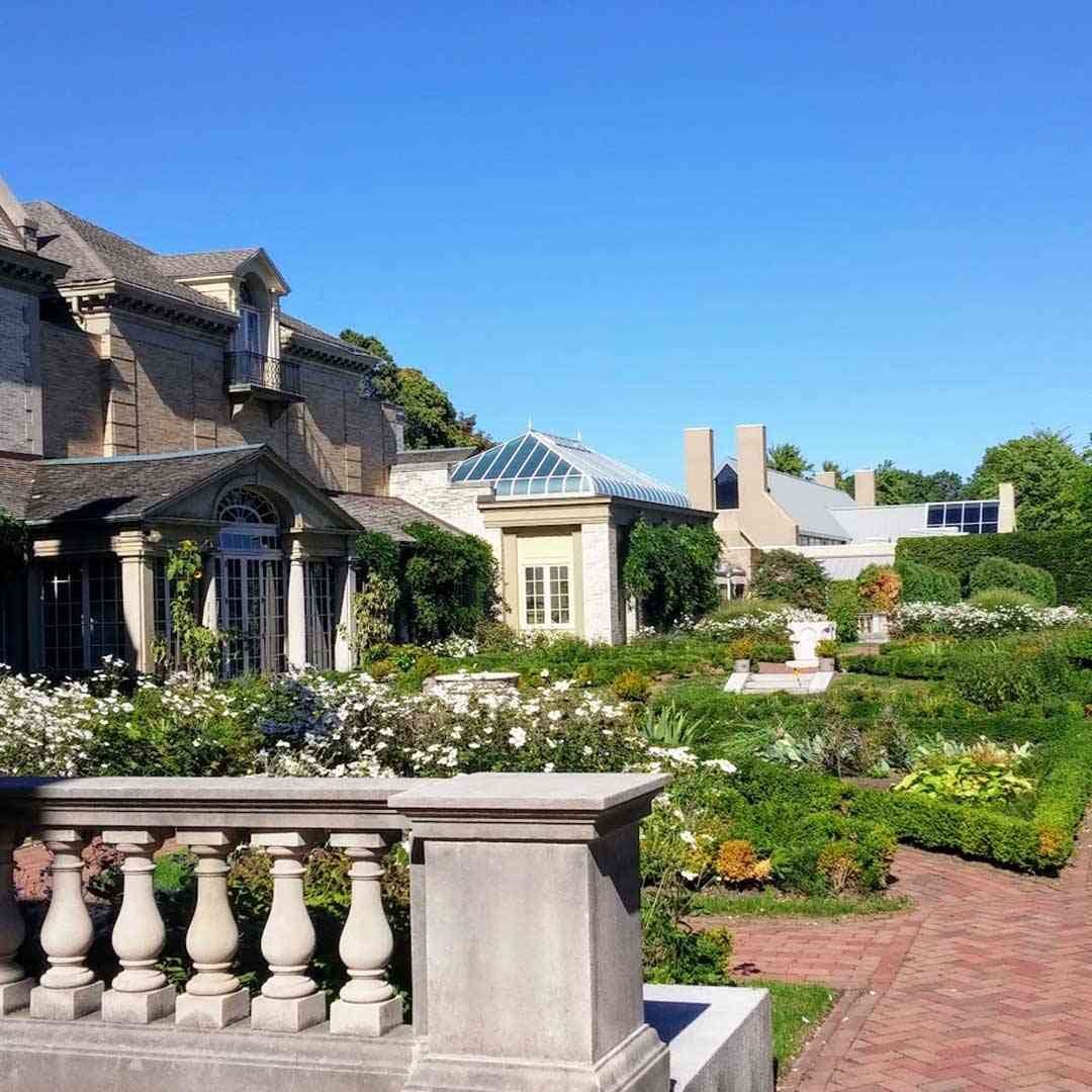 Public Gardens Around Rochester: George Eastman Museum