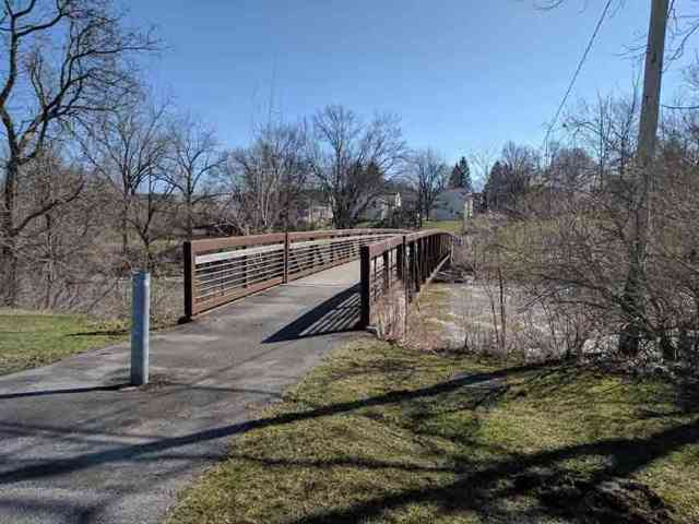 Pedestrian Bridge across Oatka Creek in LeRoy