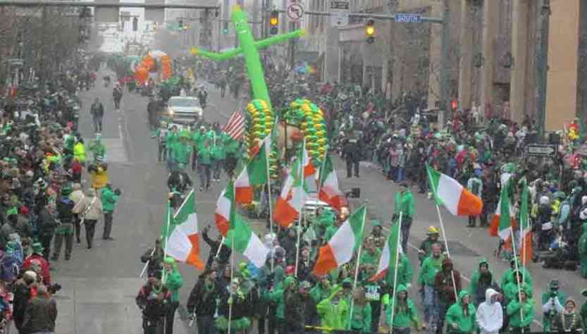 Events around Rochester - St Patricks Day Parade