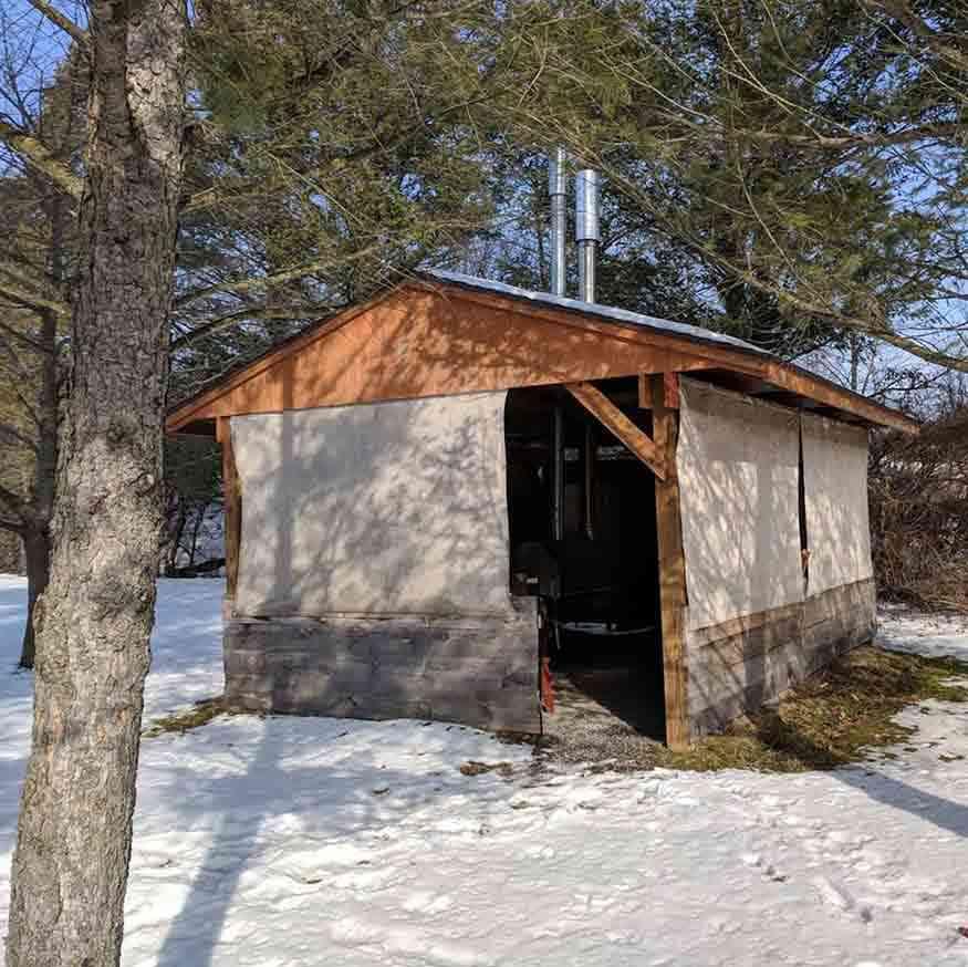 Genesee Country Village Museum Maple Sugar Shack