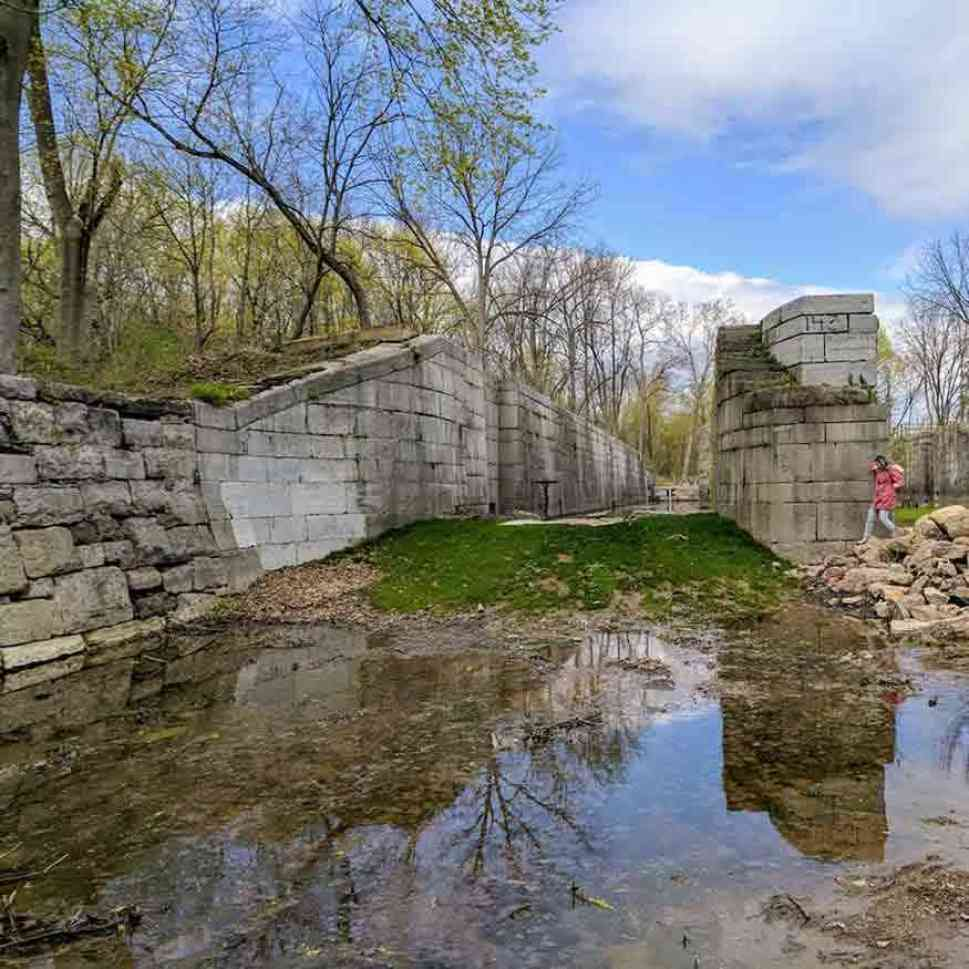 30 Day Trips within 30 Minutes of Rochester: Old Canal Lock 62
