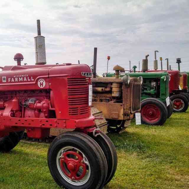 New York County Fairs: tractor parade