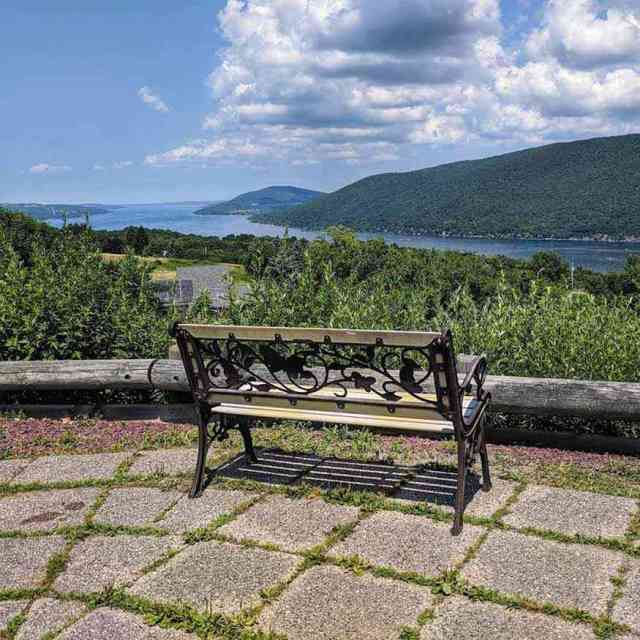Canandaigua Lake Scenic Overlook