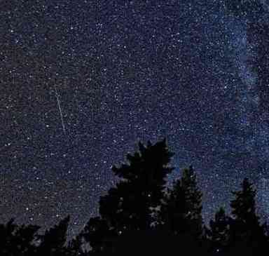 Darkest Sky near Rochester to view Milky Way Perdeids