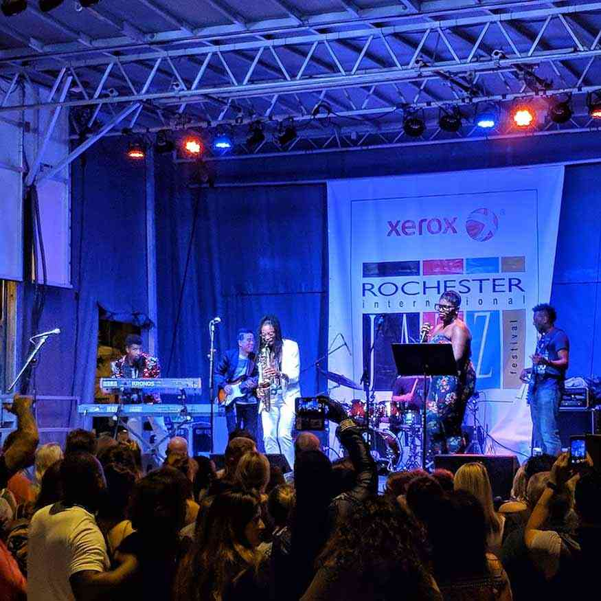 Monroe County - Free Rochester Day Trip Ideas: Rochester International Jazz Festival