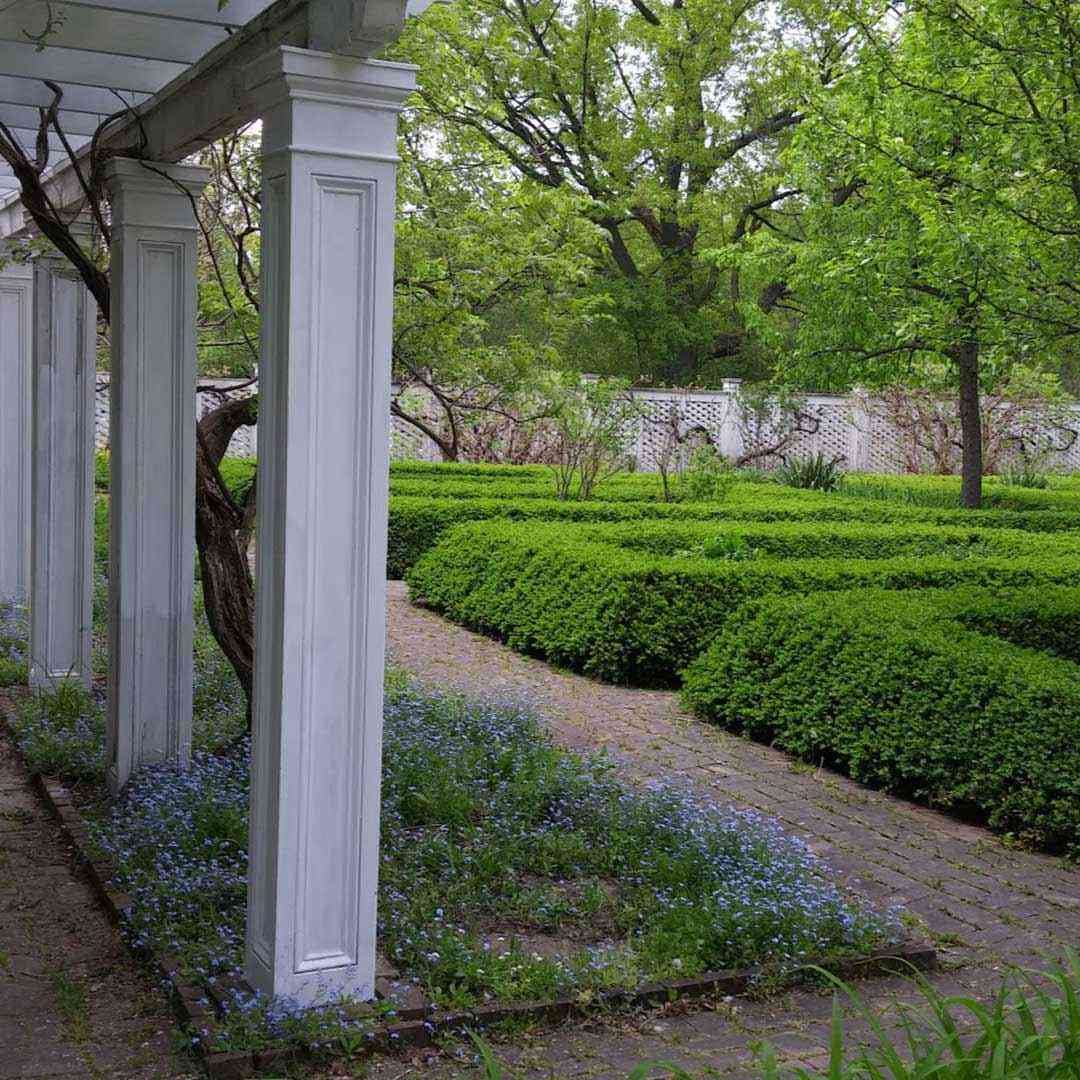 Genesee Country Village and Museum garden