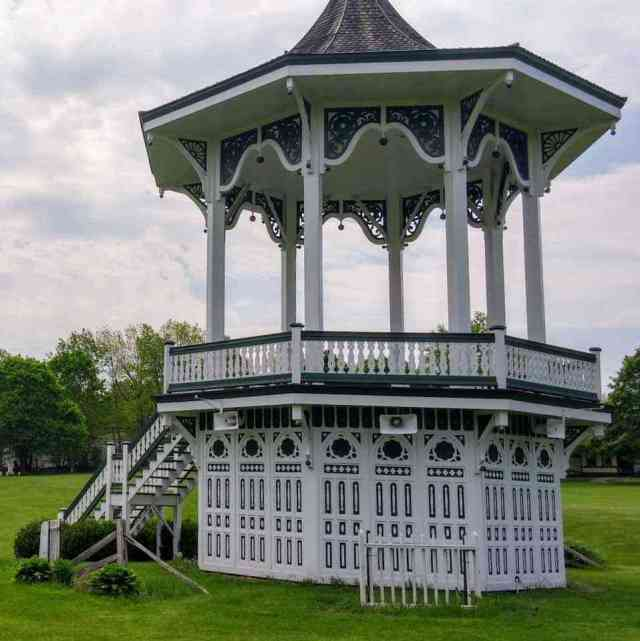 Genesee Country Village and Museum gazebo