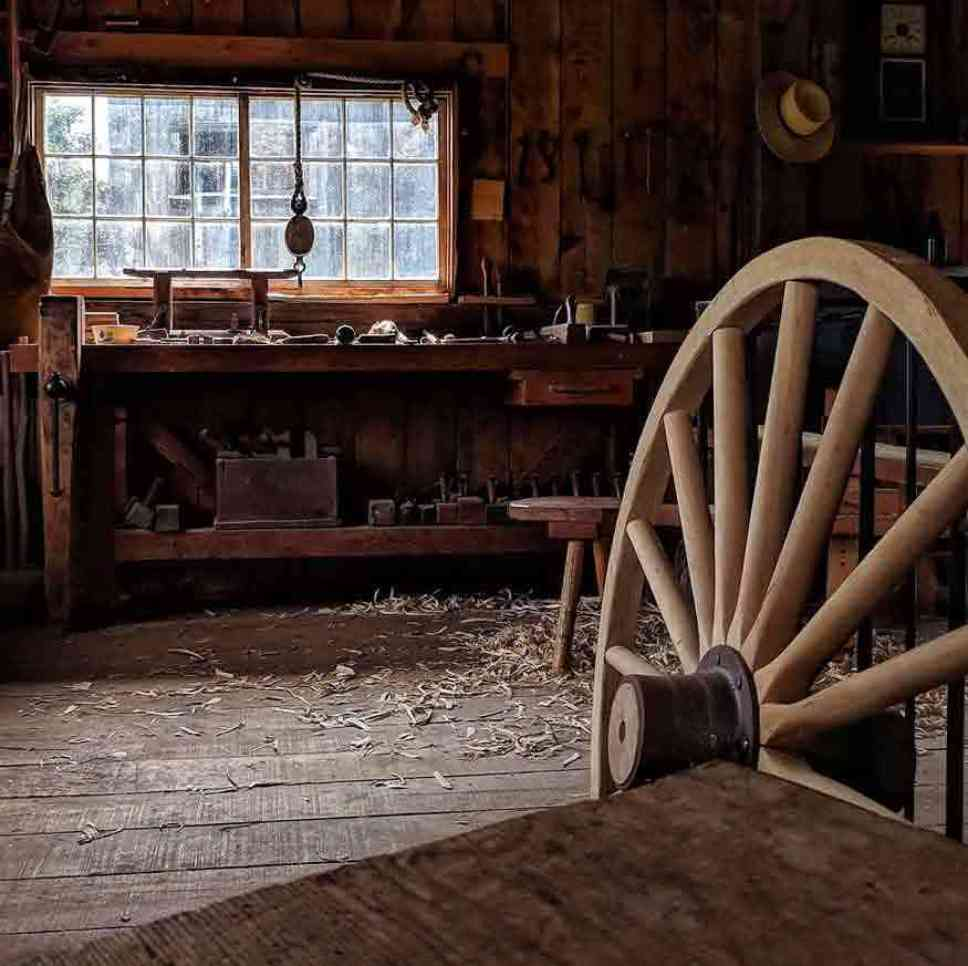 Genesee Country Village workshop