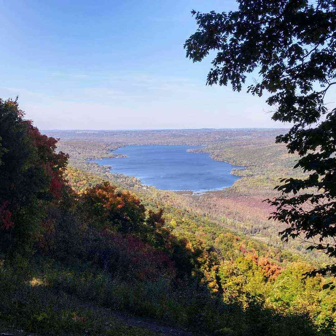 Honeoye Lake from Harriet Hollister