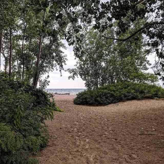 New York State Parks: Irondequoit Bay Park beach path
