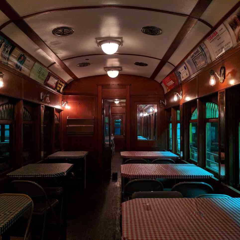 New York Museum of Transportation Trolley