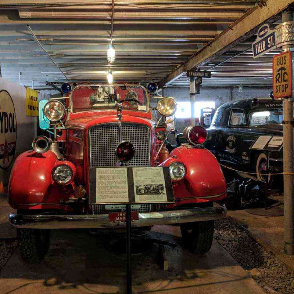 New York Museum of Transportation firetruck