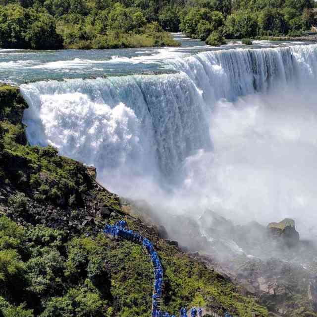 American Falls and The Crow's Nest