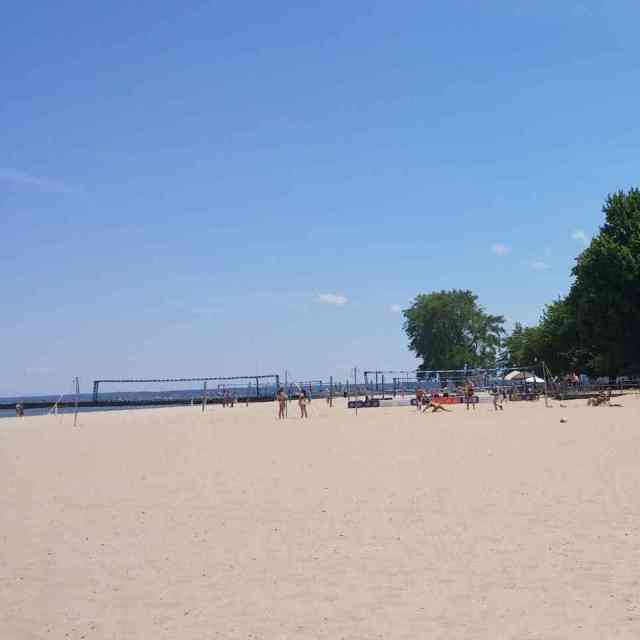 Ontario Beach Park volleyball