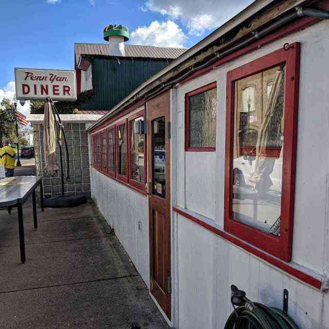 Classic Dining Car Diners: Penn Yan Diner