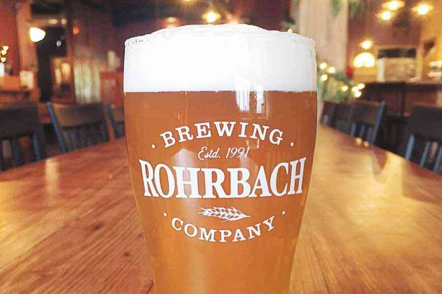 Breweries in Monroe County - Rohrbach Brewing Company