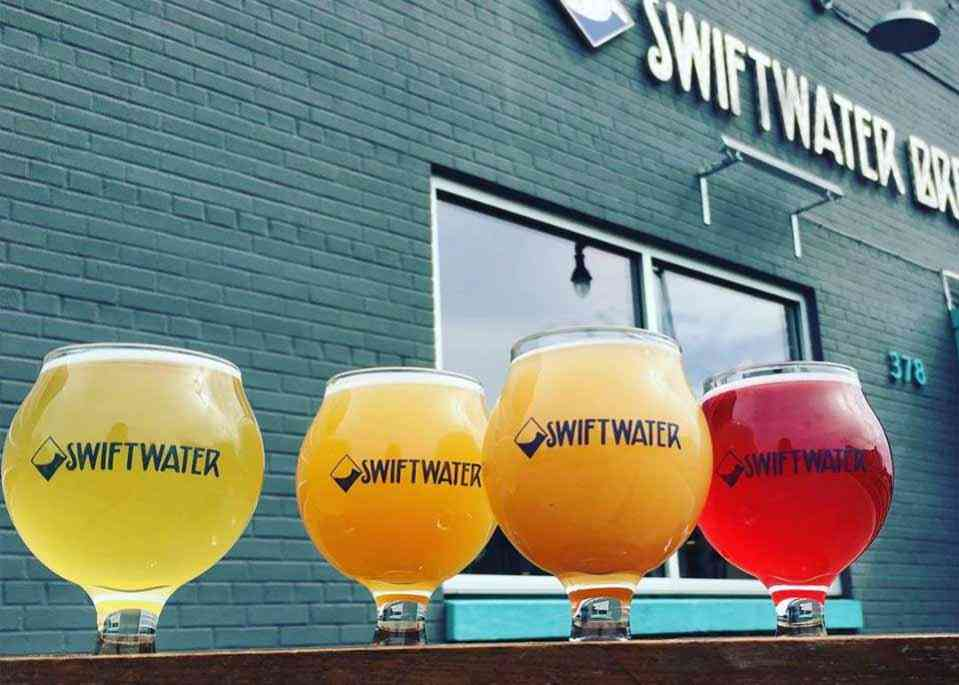 Breweries in Monroe County - Swiftwater Brewing