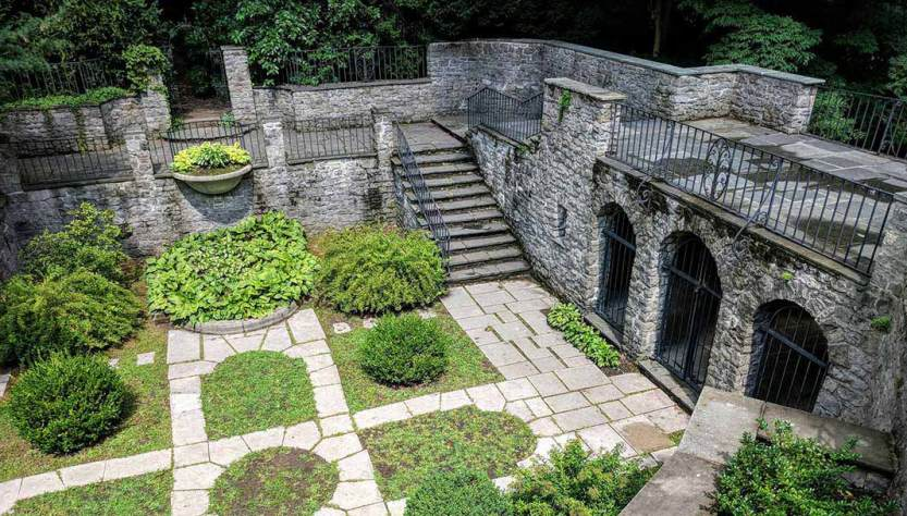 Warner Castle Sunken Garden cover