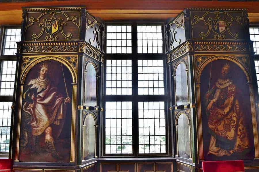 Interior of Bolsover Castle