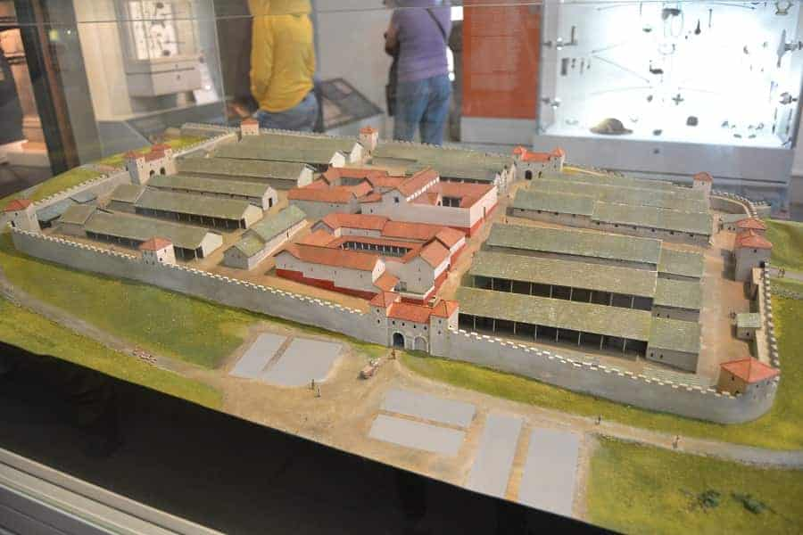 Housestead Fort Model at Museum