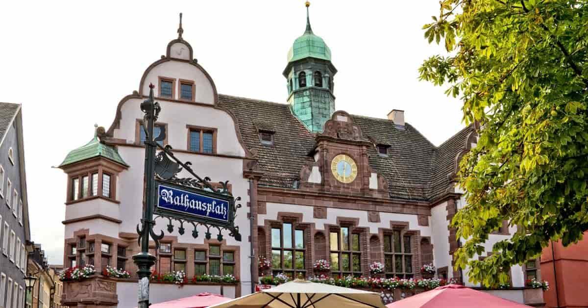 Freiburg Germany Arcitecture