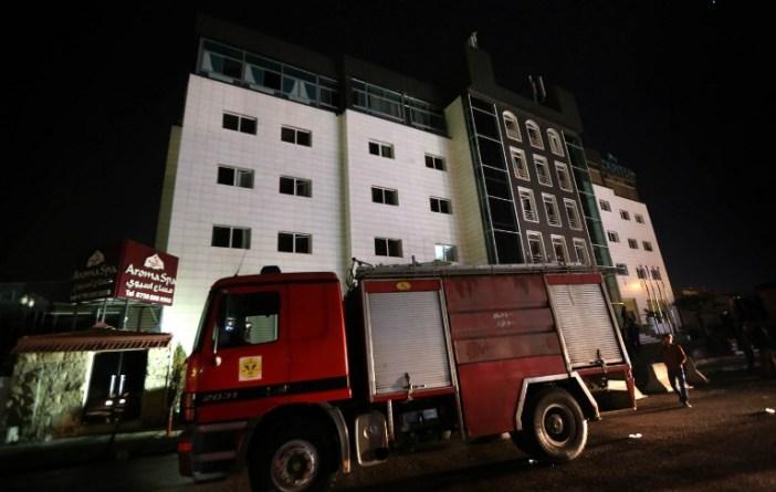 IRAQ-KURDISTAN-HOTEL-FIRE