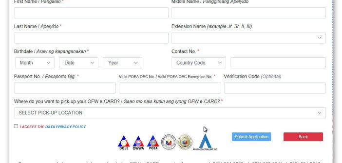e-Card Para sa mga OFW Inilunsad ng OWWA