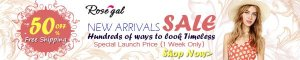 New Arrivals! 50% OFF + Free Shipping for All New Arrivals!