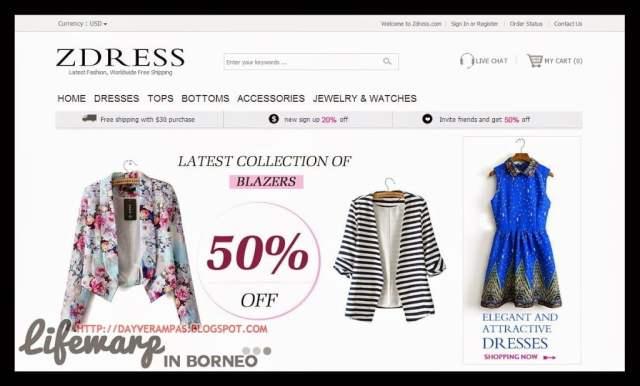 The Jesselton Girl Shopping: Zdress